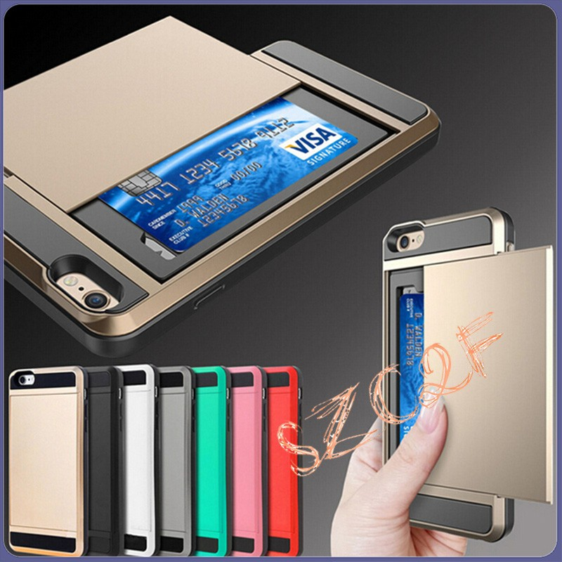 For iphone4 Hard Case Brushed Slim Armor Hybrid Tough Protective Metal bumper and slide back cover phone cover For iphone 4 4S