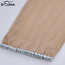 100% human hair made in china cheap tape hair extension