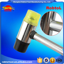 rubber hammer double face two way mallet plastic nylon head