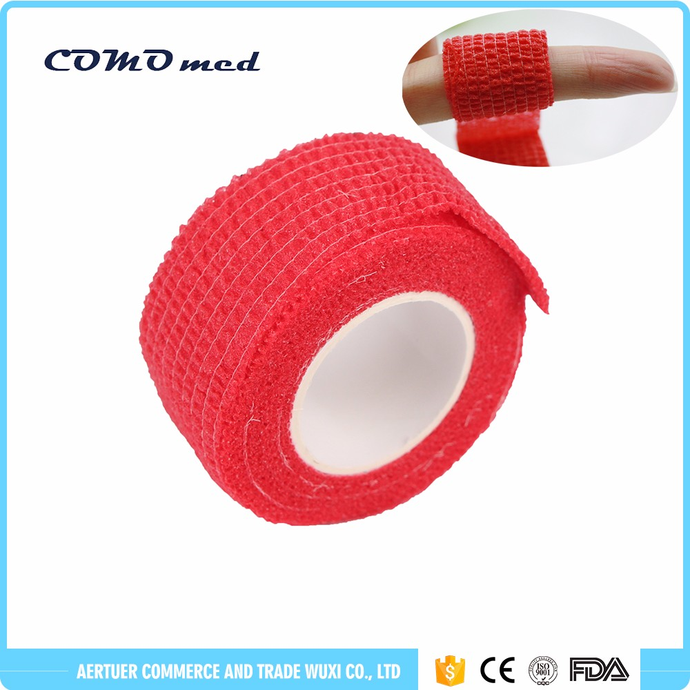 waterproof sports nail protector elastic bandage thumb trained finger hand and under arm protection