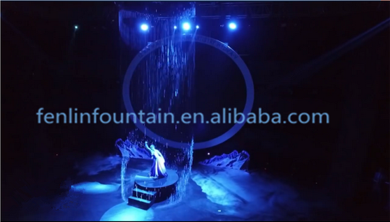 Stainless Steel Curtain Nozzle Digital Water Curtain for stage show