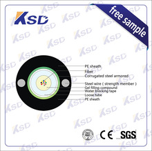 KSD Gyftw 12 24 48 Core Singlemode Outdoor Fiber Optic Cable Price Per Meter