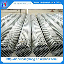 China Trade Assurance Manufacturer galvanized steel pipe for greenhouse frame