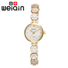 Weiqin gold watch relojes