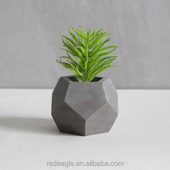 Geometrical Concrete Planter Pot Succulent Pot
