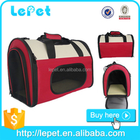 wholesale custom logo Soft- sided Carry Bag Pet Carrier Pet Travel Bags