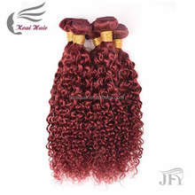 8A Brazilian Hair Curly Weave Color 33 Rich Copper Red Dark Auburn Hair Bundle Deals