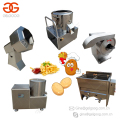 2017 Small Scale Finger Chips Production Line Frozen French Fries Making Machine Potato Chips Plant For Sale