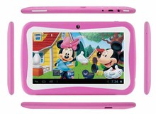 7 inch Android kids tablet pc 1024x600 512MB+8GB wifi Dual Camera & Educational Games App for kids infantil tablet