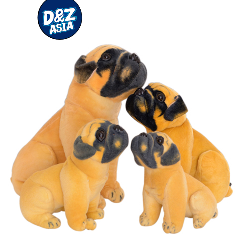 Simulation pug dog children gift toys and pokemon <strong>plush</strong>