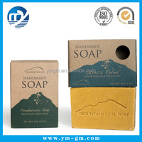 High quality custom printed cardboard packaging box for soap
