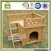 Wood Balcony Dog House for Sale