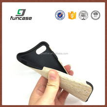 Hot sale waterproof tpu cover wood phone case for iphone7