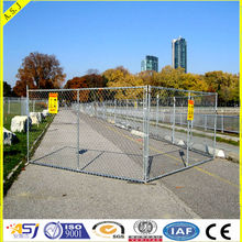 Galvanzied Temporary Chain Link Fence