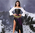 Wholesale Witch Dance Dress Carnival Halloween Costume Best Quality