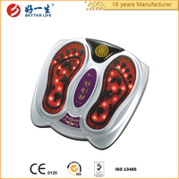 2015 New Best Acupuncture Electric Foot Blood Circulation Massager Device