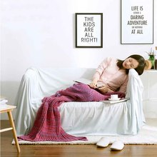 Mermaid Tail Blanket Crochet Knitted Handmade Throw Bed Wrap Super Soft Braid Christmas New Year Gift 80*50cm