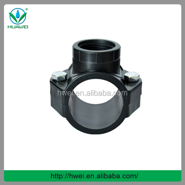 UPVC Plastic Pipe Saddle Clamp Or Clamp Saddle Manufacturer