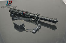 Telescopic rechargeable tactical led flashlight