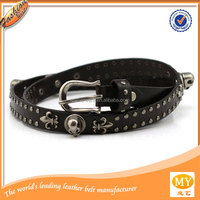 fashion skull belt for punk girl