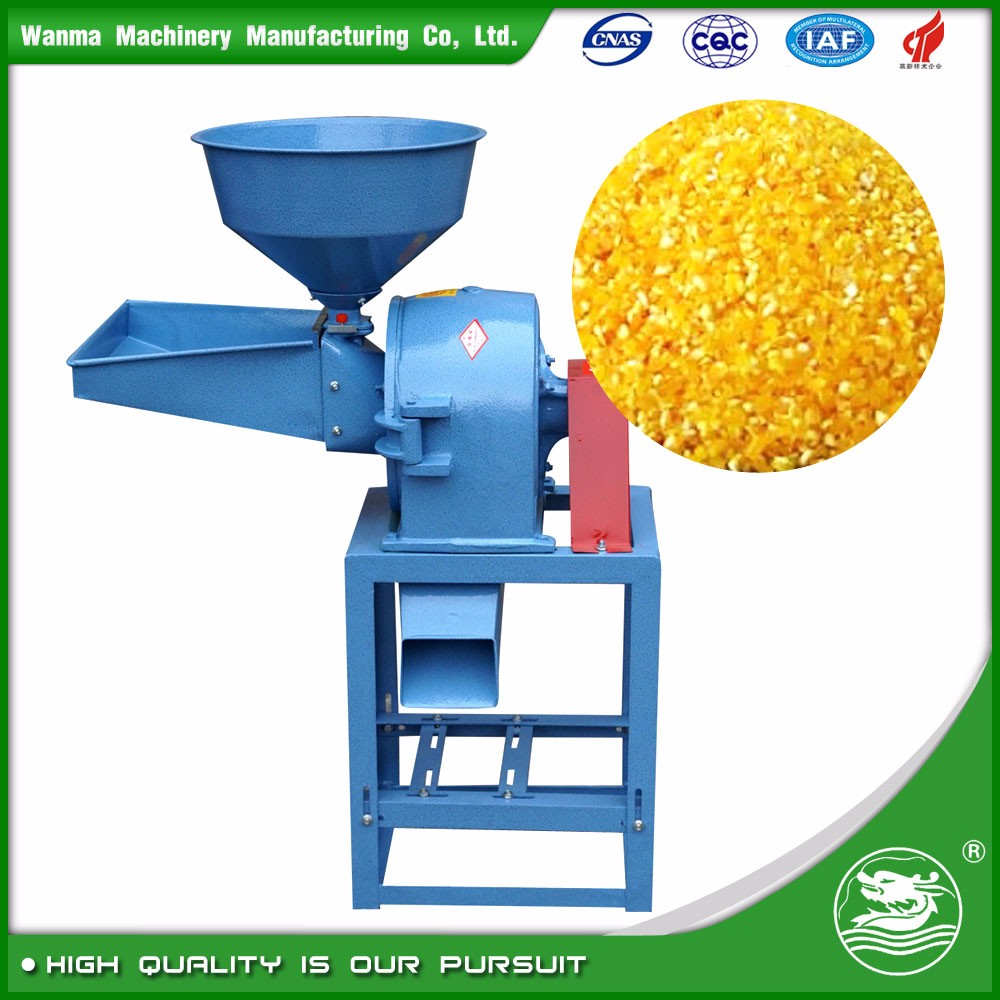 WANMA2511 Whole Set Sugar Grinding Machine With Dust Collecting Miller Crusher