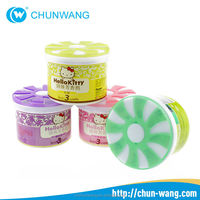 OEM novelty aroma gel air freshener for home hotel car