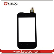 "3.5"" inch Mobile Phone Spare Parts Touch Sensor Digitizer Glass Highscreen Panel Replacement For Lenovo A66 Black"