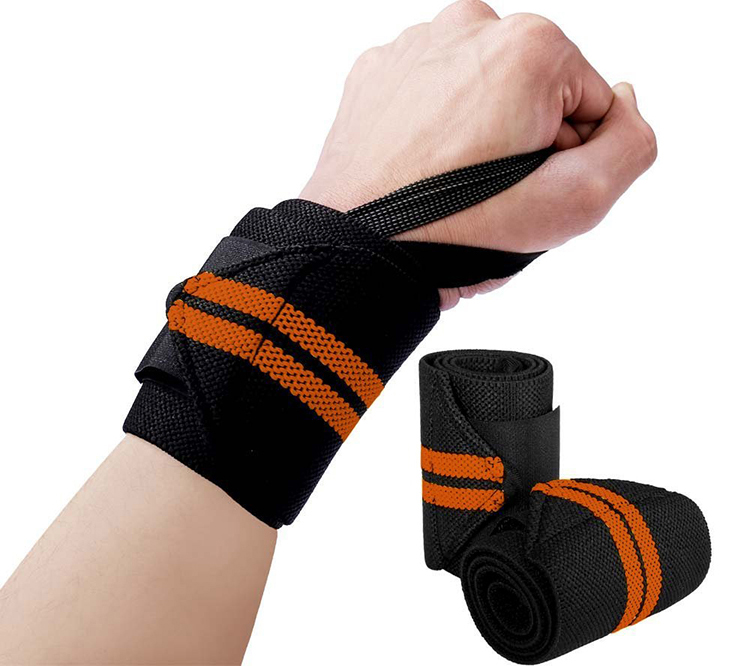 <strong>Weight</strong> Lifting Hand Wristband Wrist Brace Compression Wrap Support Strap Bandage wrist straps