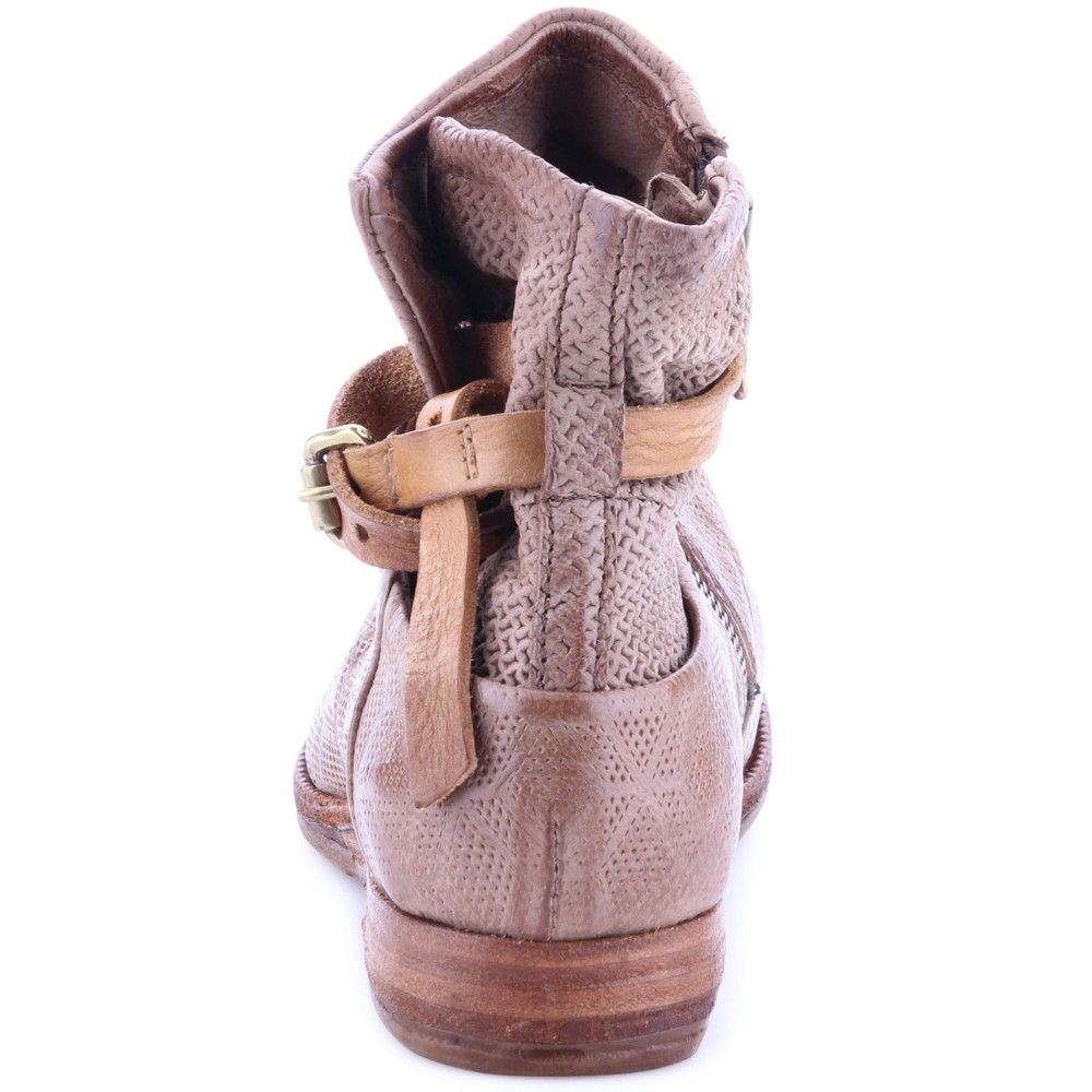 2016 winter season lady new style leather sole ankle boot