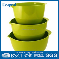 melamine salad bowl set