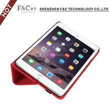 Factory Light Up Folio Tablets PC Stand Case Cover for ipad mini 4 leather case