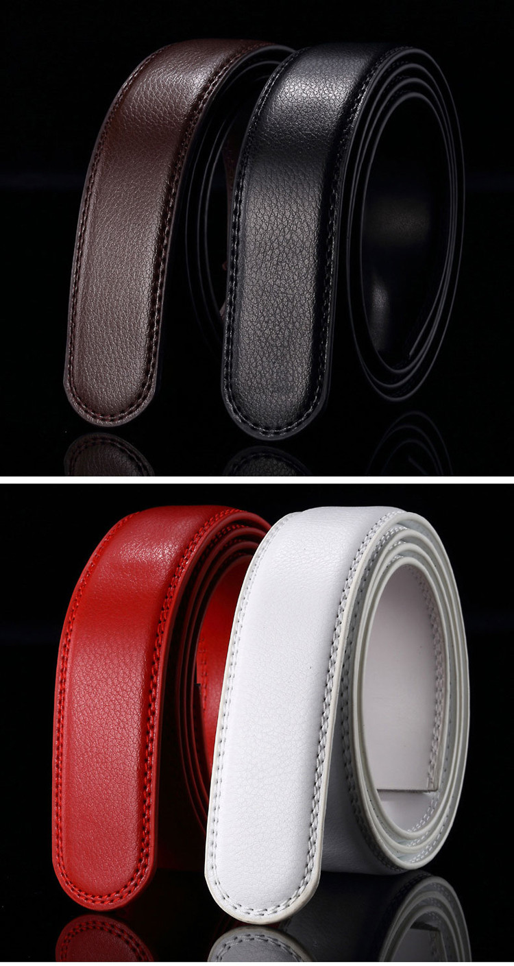 btu1216 Fat People Formal Leather Belt 135cm