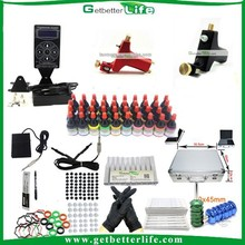 2014 getbetterlife Professional Top grade Rotary Machine Tattoo Kit