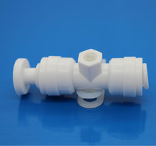 LT0205 High Quality and Low Cost Plastic Misting Fog Nozzle Fitting 1/4""