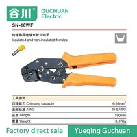 SN-16WF Ratchet Crimping pliers power cable crimping tool