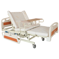 Maidesite king size manual rotating hospital nursing home care bed