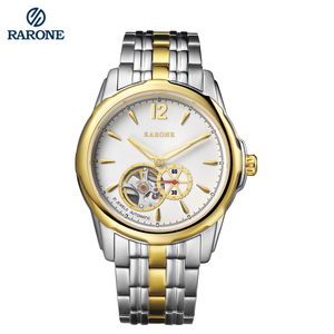 Best Selling Gold Plated Luxury Automatic Movement Watch for Men