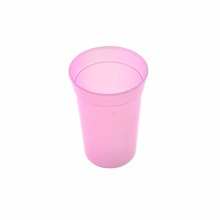 Custom Design Printing Temperature Color Changing Plastic Cup, Cold Sensitive Cup