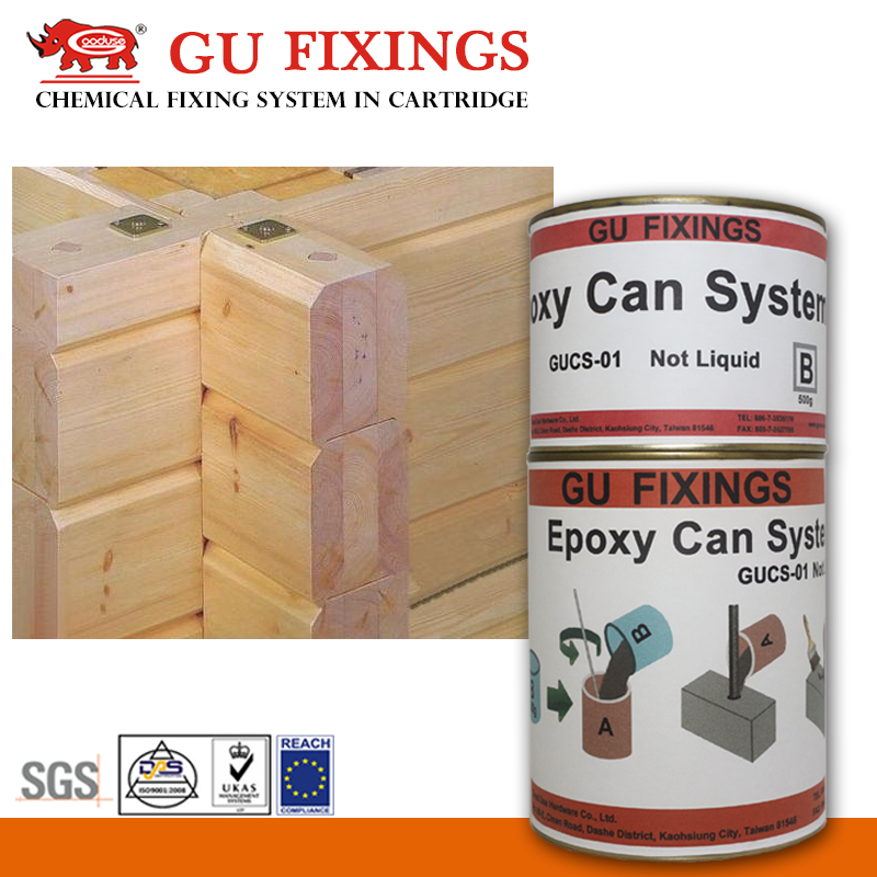 Quick ab epoxy adhesive glue for building wooden floor