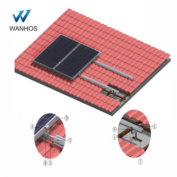 Solar bracket,pitched roof solar bracket Type solar panel roof mounting brackets