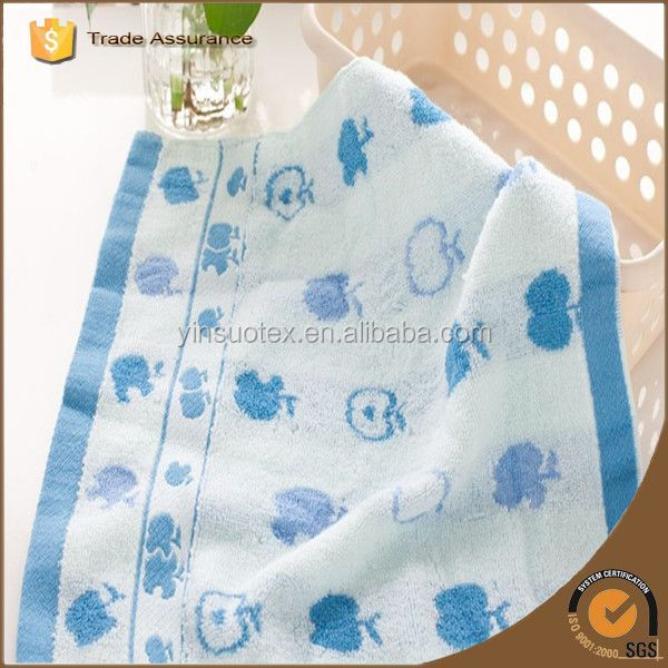Good Quality Home Environment Soft Organic Cotton Baby Towel