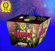 0.8 1 1.2 1.5 2 inch W V Z S Fan heart Shaped 25 100 shot Display Cakes wholesale salutes 1.3G Fireworks with factory prices