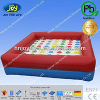 Competitive games giant twister, inflatable twister, twister game for adults