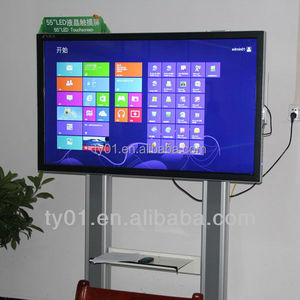 Infrared touch screen wall mounted interactive panel lcd smart board