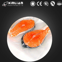 custom printed vacuum bags / frozen food packaging / food vacuum plastic bag