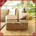 S&DMarket Basket or Picnic Tote, Perfect for Holidays Parties, Farmers Markets, BBQ's, Grocery Shopping, Potlucks, To Go Lunches