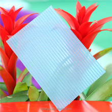 china supply colored hollow sheet twin wall sunshine sheet pc sun sheet