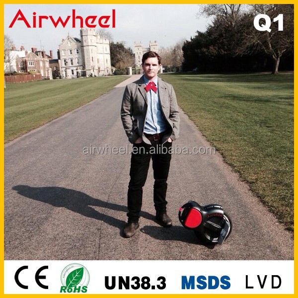 Airwheel Q1 Two Wheel Self Balancing Electric Unicycle Cheap Motorized Bicycle