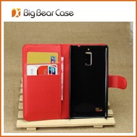 wallet card keeper tablet leather back case for huawei g526