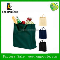 2014 China wholesale plain canvas tote shopping bags/large tote bag cotton